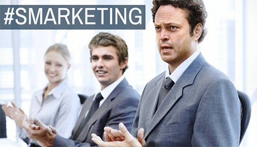 Role Of SMARKETING In Your Company's Social Selling Success