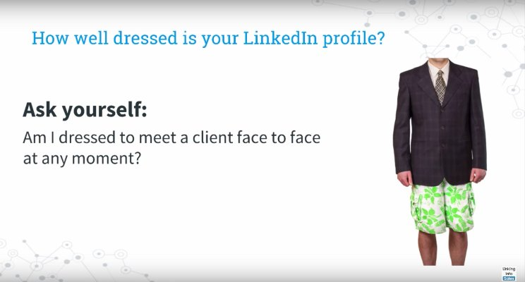 Dress for linkedIn